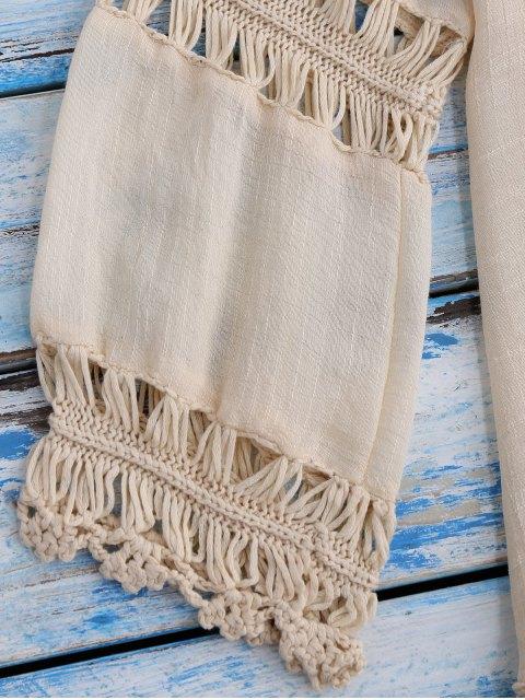 Crochet plage Bib Dissimulation Tunique - RAL1001Beige TAILLE MOYENNE Mobile