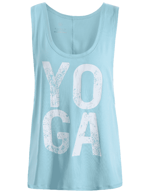 fashion Yoga Dropped Armhole Sports Tank Top -   Mobile