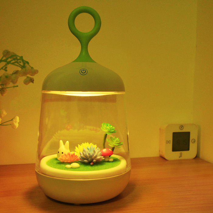 DIY Micro Landscape Rabbite LED Night Light 211208801