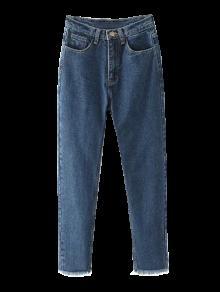 مدبب المتوترة هيم جينز - ازرق غامق 2xl
