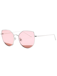Cat Eye Anti UV Sunglasses - Pink