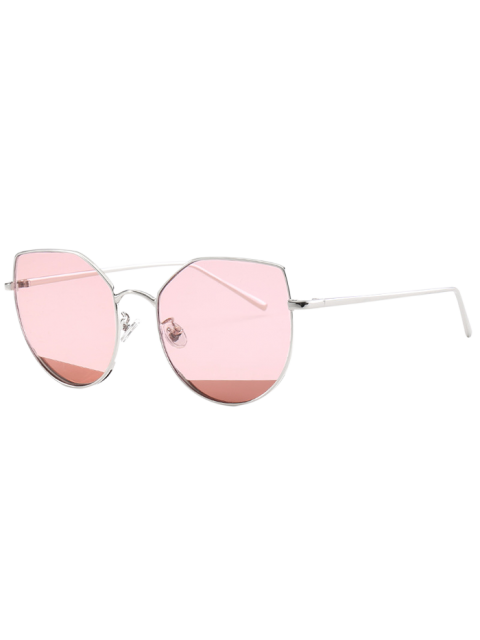 unique Cat Eye Anti UV Sunglasses - PINK  Mobile