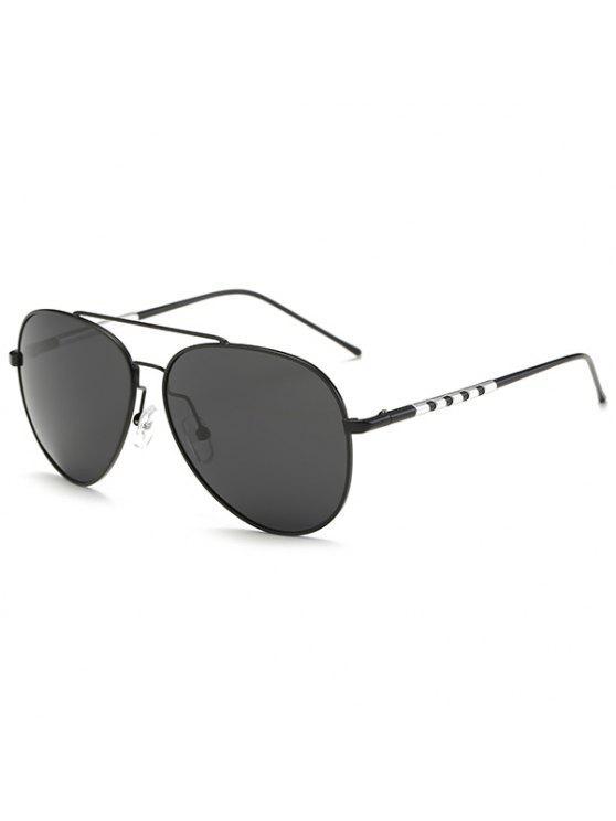 الاستقطاب النظارات الشمسية حماية أوف - أسود + رمادي
