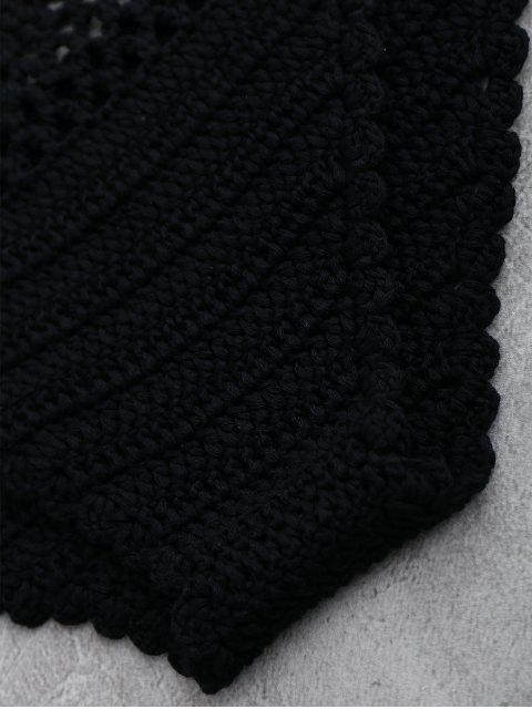 maillots de bain au crochet à dos-nu - Complet Noir TAILLE MOYENNE Mobile