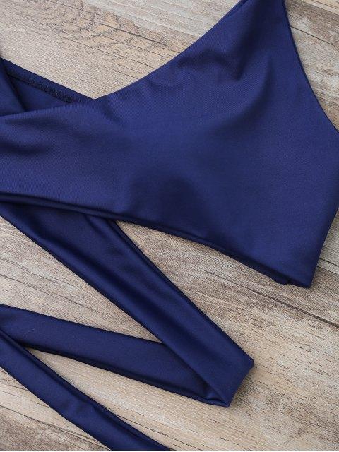 fashion Low Rise Wrap Bikini - COLORMIX L Mobile