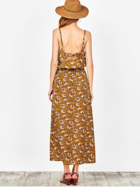 sale Beach Floral Maxi Dress - GINGER M Mobile