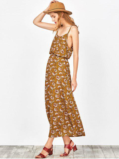 affordable Beach Floral Maxi Dress - GINGER S Mobile