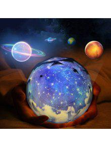 المشهد الفضائي الكواكب الدورية مصباح الإسقاط - أسود
