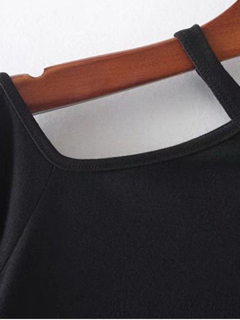 Couvercle d'épaule froid - Noir M Mobile