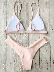 8831d5c3b6 34% OFF] [HOT] 2019 Soft Pad Spaghetti Straps Thong Bikini Set In ...