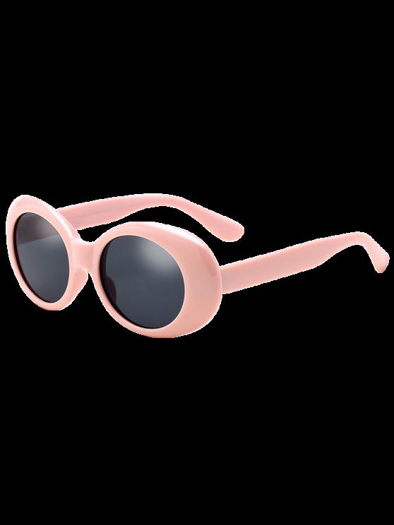 Gafas de sol retro antideslizantes ovaladas del windbreak - Rosa