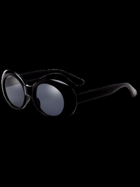 Gafas de sol retro antideslizantes ovaladas del windbreak - Negro  Mobile