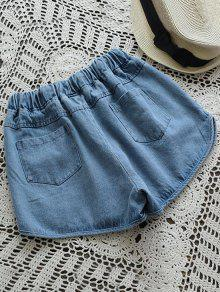 3bbc9a4c1 Shorts Jeans Feminino Cós Elástico  Shorts Jeans Feminino Cós Elástico ...