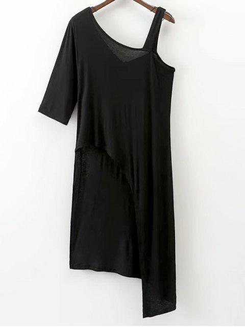 Haut d'épaule froid asymétrique - Noir M Mobile