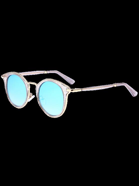 القط العين إطار معدني التفاف الشمسية - الثلج الأزرق