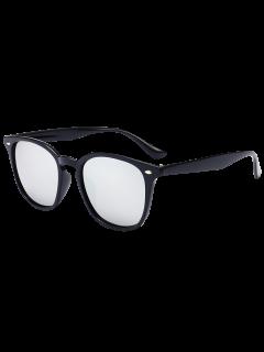 Lunettes De Protection Réfléchies à Protection UV Miroir - Noir + Mercure