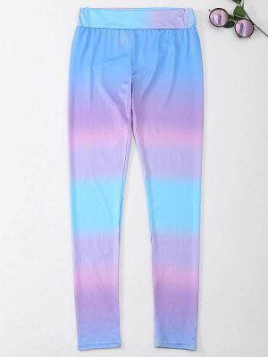 Ombre Skinny Leggings Sin Pie - S