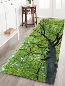 شجرة امتصاص الماء الفانيلا أنتيسليب البساط - أخضر 48*16 Inch