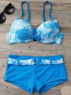 Soutien-gorge à Bikini Assorti à L'assortiment De Cravates Avec Des Boxeurs - Pers M