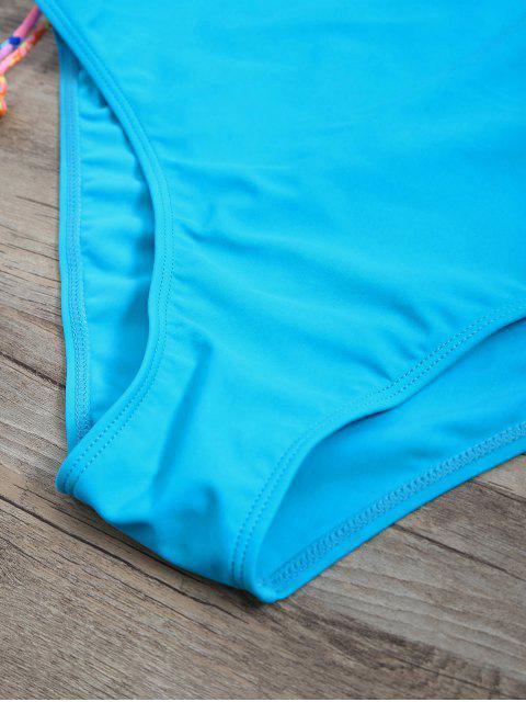 Tankini Paisley Taille Haute Diapré - Pers S Mobile