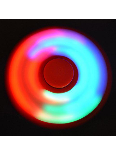 Fidget спиннер  непоседа цветный LED лампа - Красный  Mobile