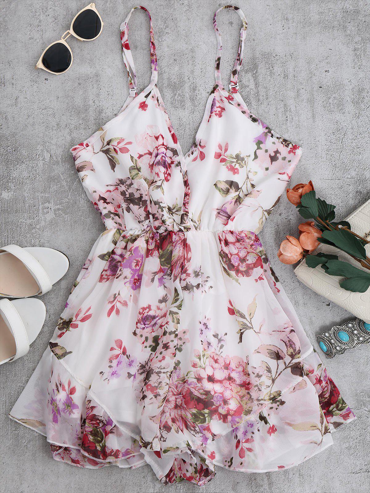 Cami Floral Chiffon Ho