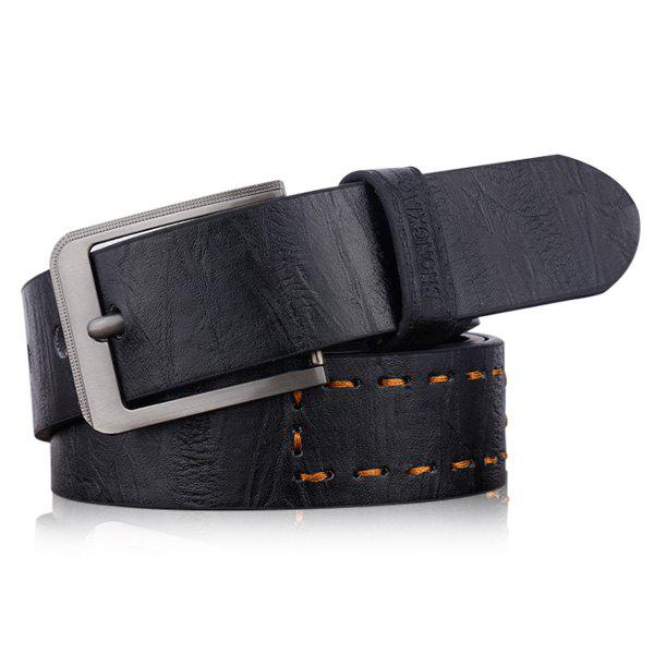 Letters Hot Stamping Faux Leather Belt 211716204