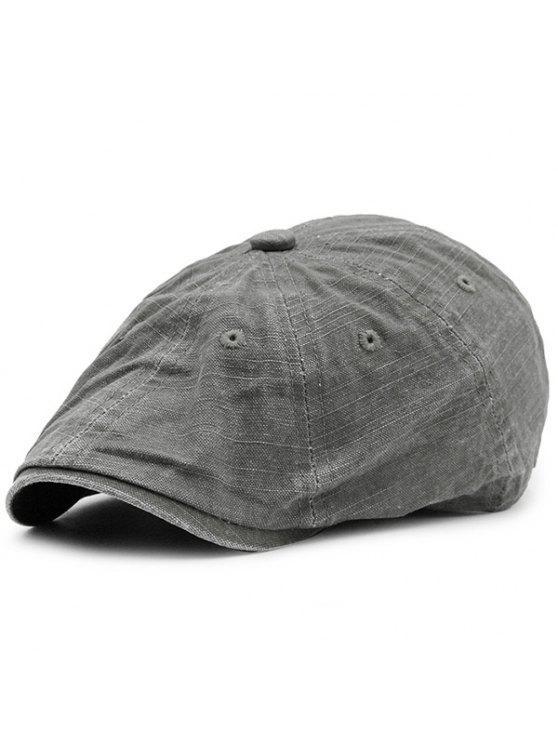 الاصطناعي المتوترة قابل للغسل الدنيم قبعة المستأجر قبعة - الرمادي العميق