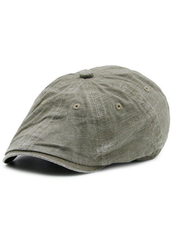الاصطناعي المتوترة قابل للغسل الدنيم قبعة المستأجر قبعة - قهوة