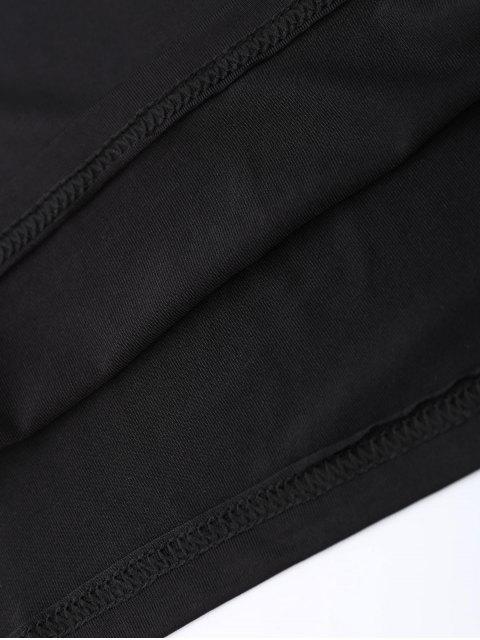 Débardeur Halter Strappy - Noir XL Mobile