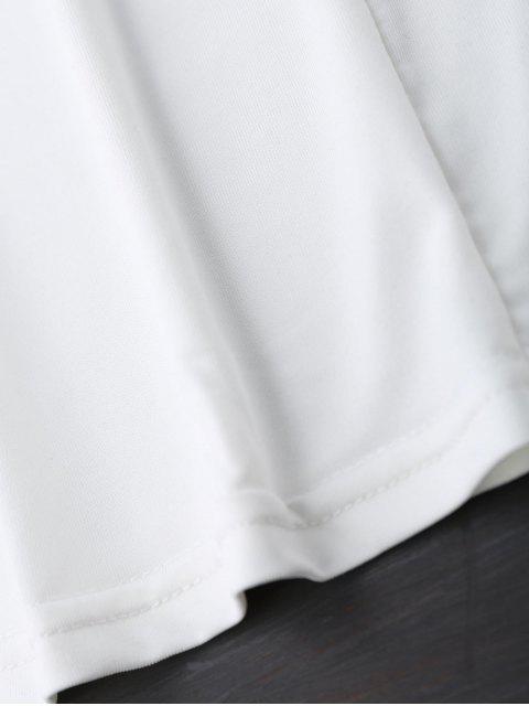 Débardeur Halter Strappy - Blanc S Mobile