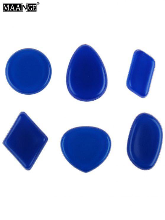مانج 6 قطع شكل مختلف سيليكون الإسفنج ماكياج - سيريلين