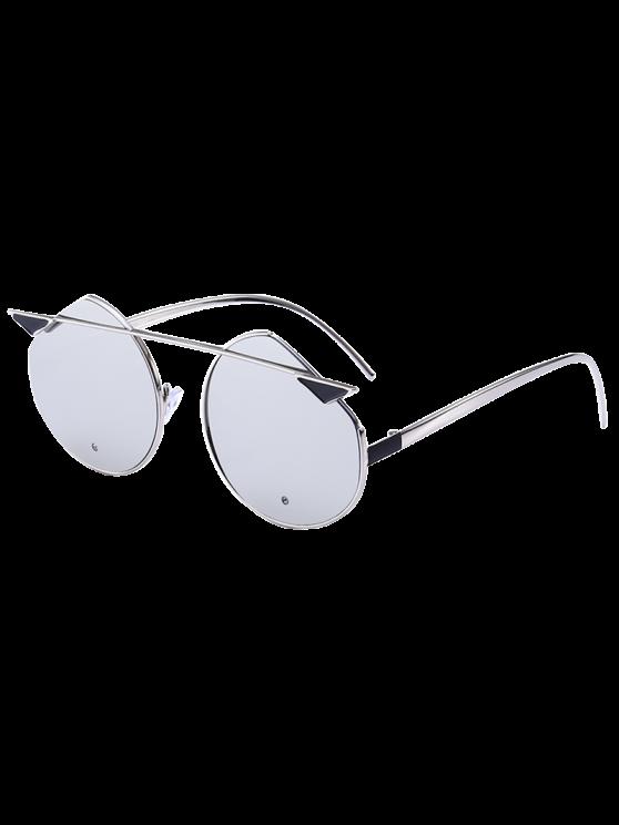 نظارات شمسية بعدسات عاكسة بنمط عين القطة - الشظية الإطار + الزئبق عدسة