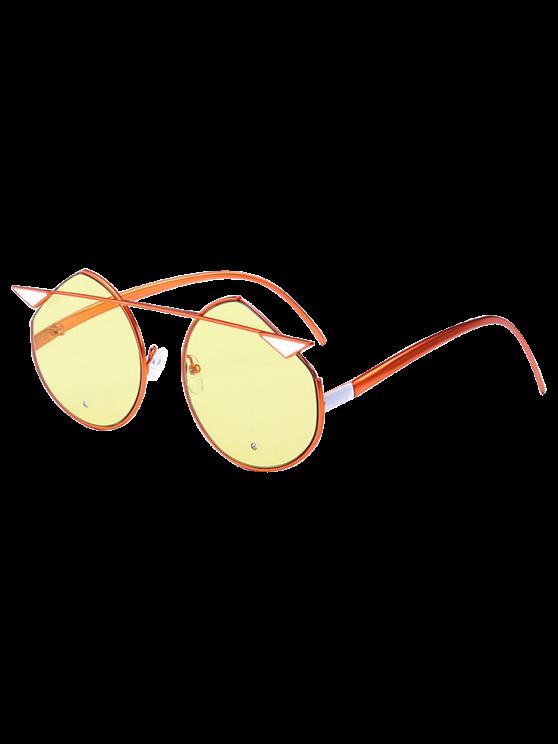 القط العين المعادن عاكسة قطع النظارات المتطابقة - لؤلؤة نحاسي