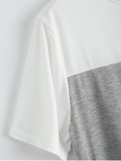 Robe en t-shirt à manches courtes - Noir M Mobile
