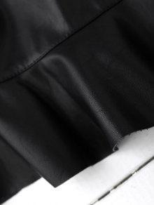 Alto Negro Cuello L Piel De vqCwtCd