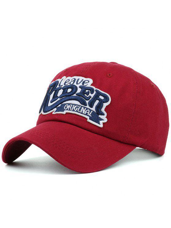 خطابات التطريز سونبروف قبعة بيسبول - أحمر