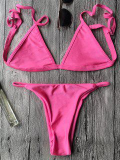 Cami String Bikini Set - Rose S