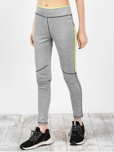 latest High Waist Ankle Length Gym Leggings -   Mobile