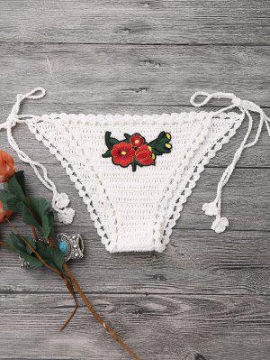 Mezcla Y Combina El Bikini De La Correa Del Ganchillo - Blancuzco