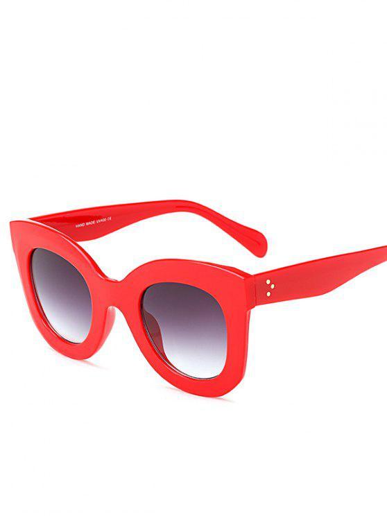 في الهواء الطلق سونبروف فراشة النظارات الشمسية - أحمر