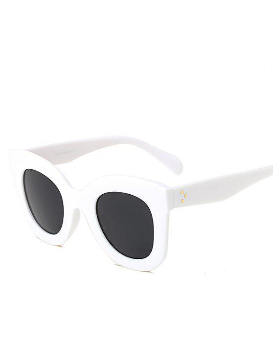 في الهواء الطلق سونبروف فراشة النظارات الشمسية - أبيض رمادي