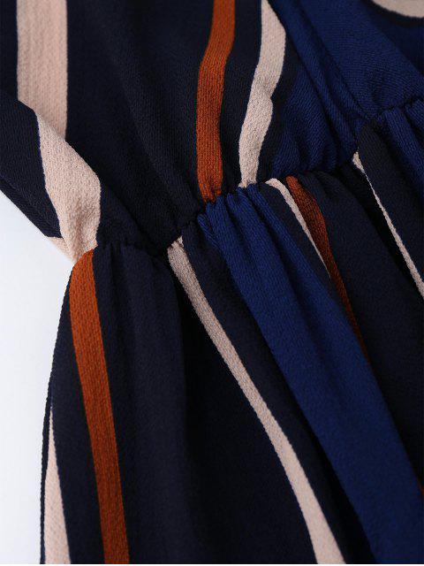 new Multi Stripe Cami Midi Sundress - STRIPE XL Mobile