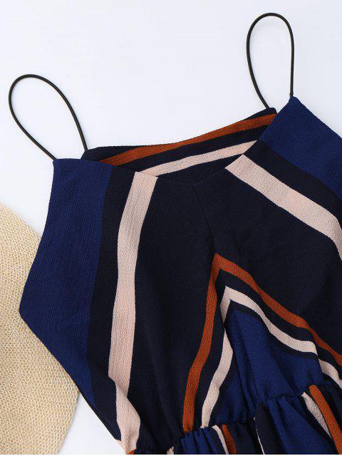 online Multi Stripe Cami Midi Sundress - STRIPE M Mobile