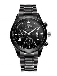 ساعة رسمية للرجال - أسود
