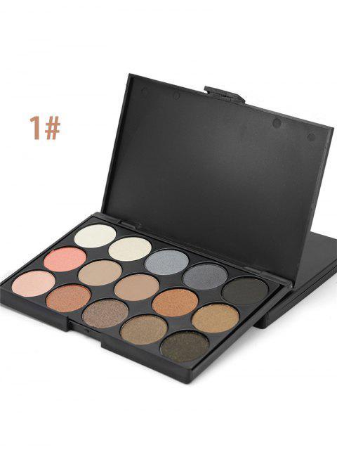 Gama de colores mate de sombra de ojos - 01 #  Mobile