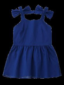 Azul Xl Backless Top Bowknot Skirted Denim 0qIwRaT