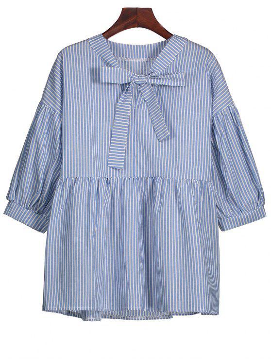 Blusa rayada de la pajarita - Raya S