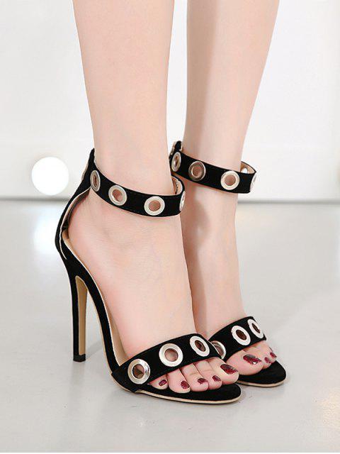 Chaussures à talon aiguilles à creux creux - Noir 37 Mobile