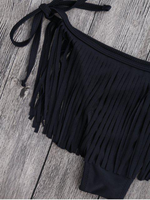 Combinaison de bain à bandoulière à une épaule - Noir S Mobile